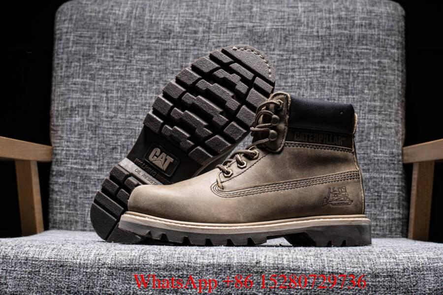Caterpillar Sire Waterproof boot Men's CAT boots casual shoes safety shoes brown 4