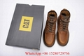 Caterpillar Sire Waterproof boot Men's CAT boots casual shoes safety shoes brown 19