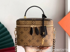 Louis Vuitton Nice BB monogram Canvas bag LV makeup bag LV shoulder bag