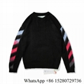 Off white sweater Off Crewneck sweatshirt off white multicolor long sleeve shirt