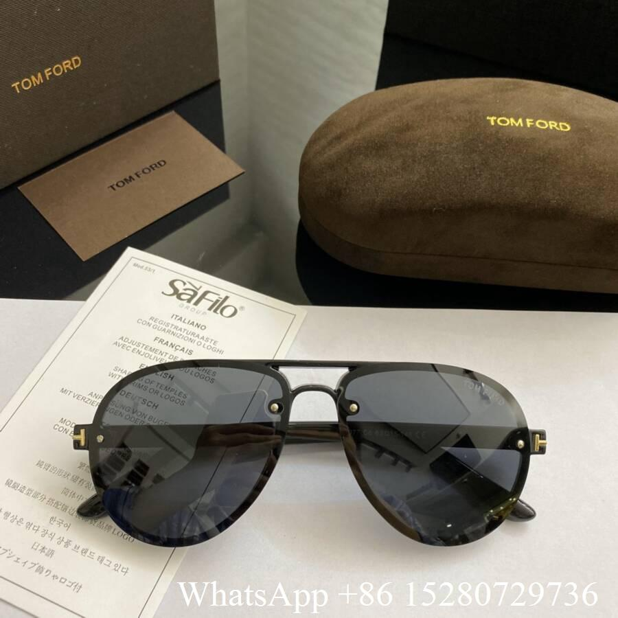 Tom Ford sunglasses Square sunglasses Men's eyewear designer sunglasses cheap