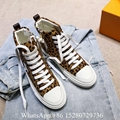 Women's Louis Vuitton LV archlight sneaker Trainer Multicolor white leather shoe