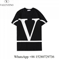 Women's Valentino T-shirts VLTN cotton T-shirts short sleeve red valentino crew