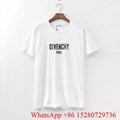 2020 Givenchy T-shirts White Oversized Logo Print cotton jersey women collection