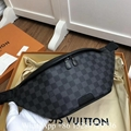 Louis Vuitton Discovery Bumbag Monogram Eclipse Canvas bag lv corss body LVXLOL