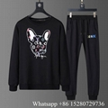 Men's LV Tracksuit Cheap designer LV hooded sweatshirt  LV jogging  suit