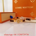 Louis Vuitton Men's Fashion jewellery LV Chain links Patches bracelet gift US