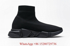 Wholesale men's casual comfortable socks sneaker Speed Mid-Top trainer black  (Hot Product - 5*)