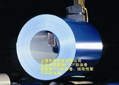 氟碳鍍鋁鋅彩鋼卷