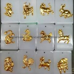 12 zodiac guanyin Buddha pendant
