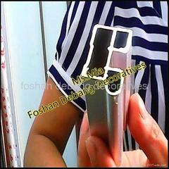 银色氧化橱柜铝材