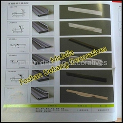 good-looking aluminum profile for kitchen cabinet frame