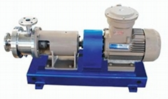 Pipeline emulsifying machine