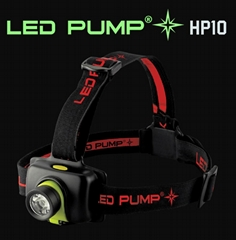 160 lumens rechargeable headlamp with CREE XPE-R3 LED and1×13450 lithium battery