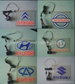 EL car sticker with customized design artworks