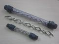 Transparent PVC static mixer