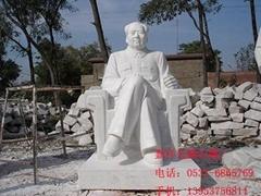 石雕主席嘉祥石雕