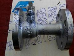 不锈钢排污球阀QP41M-25P型号图文介绍