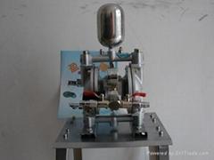 3分口径气动喷漆隔膜泵