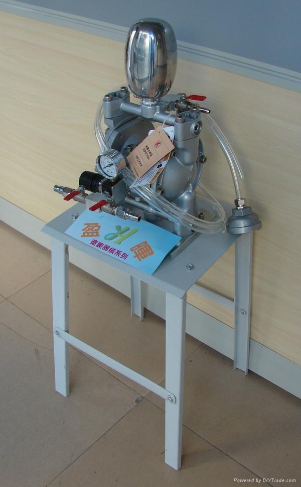 靜電抽膠泵氣動隔膜泵 1