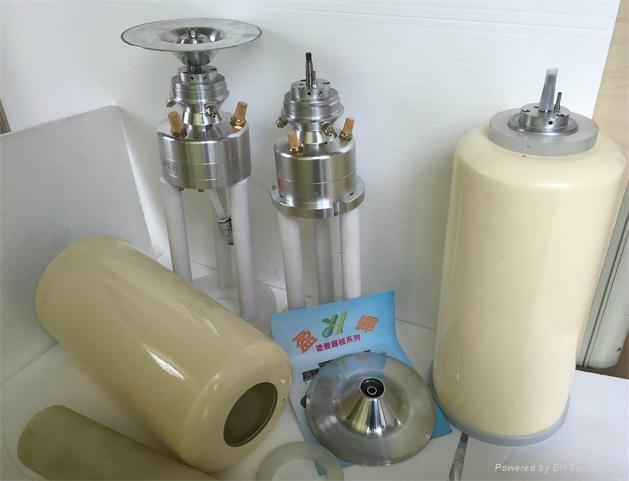 DISK雙渦輪氣動高速霧化器 2