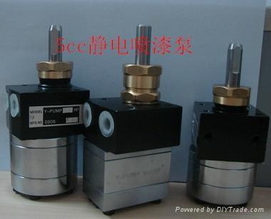 DISK靜電噴漆塗料齒輪泵 2