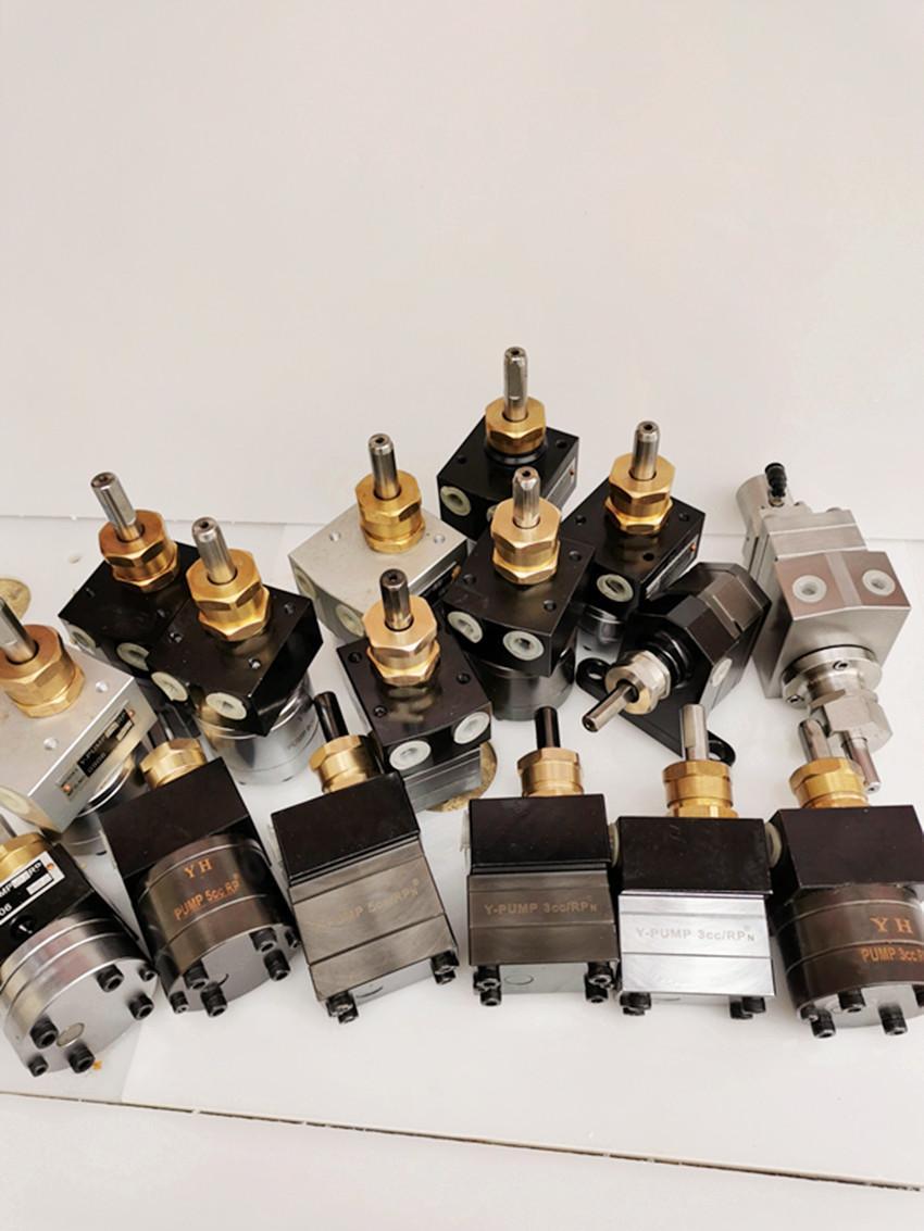 DISK靜電噴漆塗料齒輪泵 3