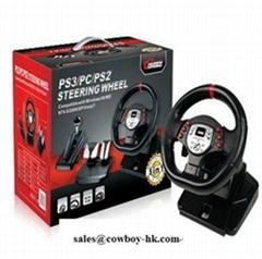 Pc game steering wheel