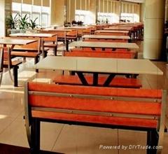 杭州快餐廳桌椅