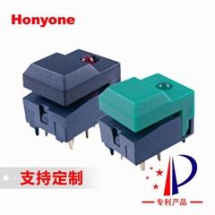 Honyone工厂直销PB86灯光控制台调光切换带双灯推子按键开关