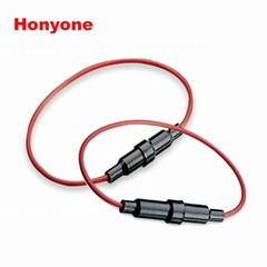 HONYONE FH10-208 5*20mm带线汽车保险丝夹