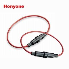 HONYONE FH10-208 5*20mm帶線汽車保險絲夾
