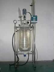 100升双层玻璃反应釜