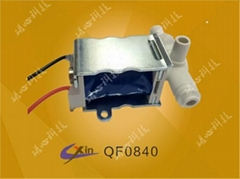 Massage solenoid valve