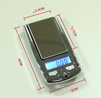 100g*0.01g car keys style digital pocket scale 6