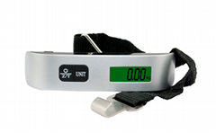 LCD display 50kg digital luggage scale