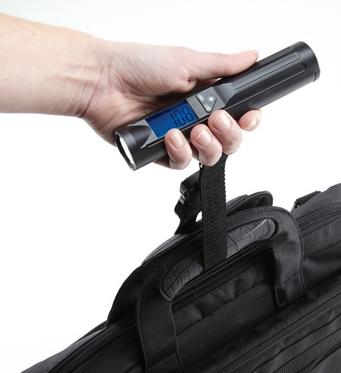 50kg*10g luggage scale with led flashlight 1