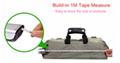 Built-in 1 meter tape measure digital luggage scale