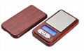 wood grain 100g*0.01g mini pocket scale
