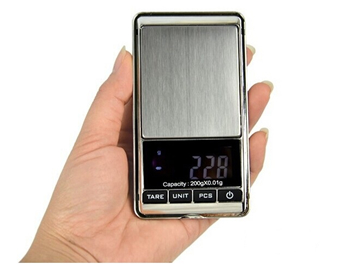 Stainless steel Digital Jewelry Pocket Scale 2