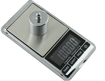 Stainless steel Digital Jewelry Pocket Scale 3