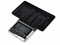 Stainless steel Digital Jewelry Pocket Scale