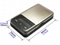 Digital Pocket Scale with Green Backlight 200g*0.01g 2