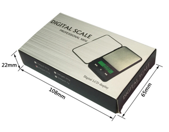 Digital Pocket Scale with Green Backlight 200g*0.01g 3