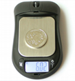 Mouse shaped 100g/ 0.01g Digital Pocket Scale 4