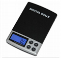 LCD display pocket scale 2