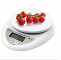 5kg/1g Digital household kitchen scale