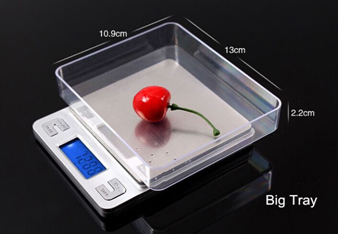 PCS Counting Digital Kitchen Pocket Scale 2