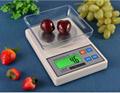 Green backlight digital kitchen scale