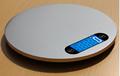 Round design stainless steel kitchen scale 2